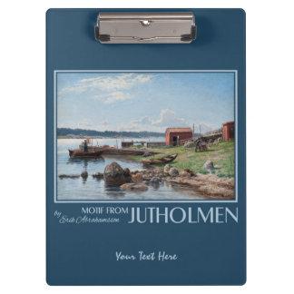 "Abrahamsson's ""Motif from Jutholmen"" clipboard"