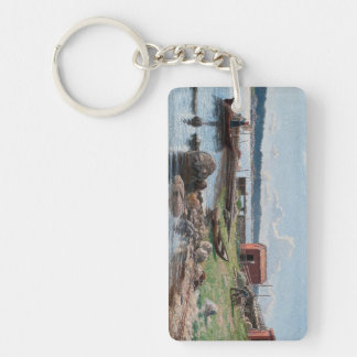 "Abrahamsson's ""Motif from Jutholmen"" key chain"