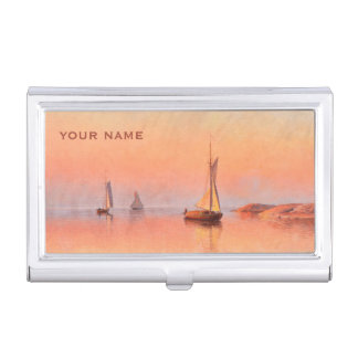 Abrahamsson's Sailboats business card holder