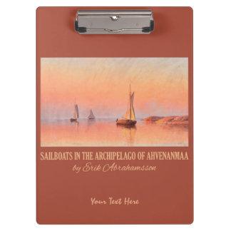 Abrahamsson's Sailboats clipboard