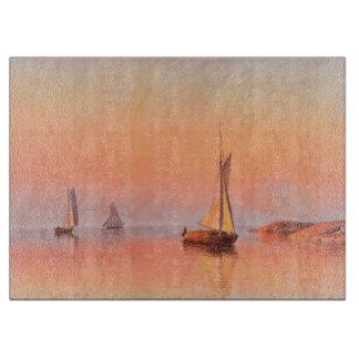 Abrahamsson's Sailboats cutting board