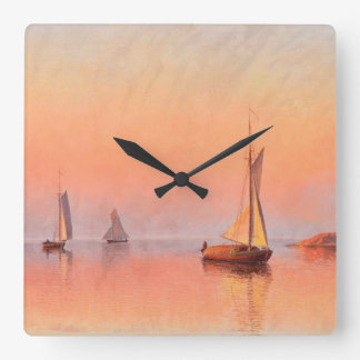 Abrahamsson's Sailboats wall clock