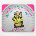 Abrahamster Cookie Feel Good Mousepad
