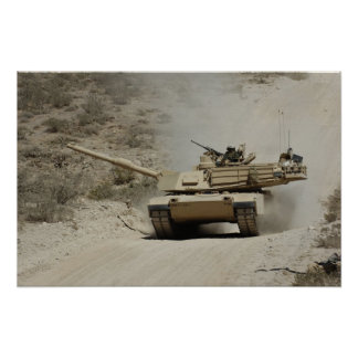 Abrams at the Ready Poster