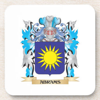 Abrams Coat Of Arms Beverage Coaster