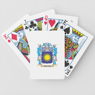 Abrams Coat Of Arms Bicycle Playing Cards