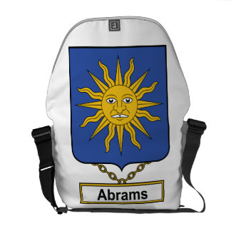 Abrams Family Crest Courier Bags
