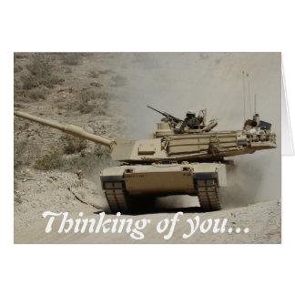 Abrams Tank Card