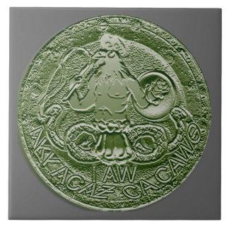 abraxas bas relief tile