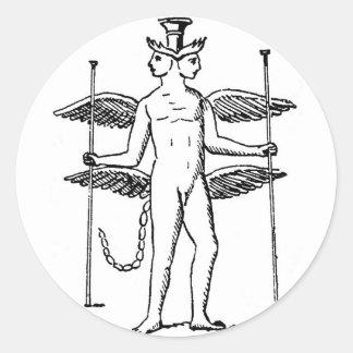 Abraxas Classic Round Sticker