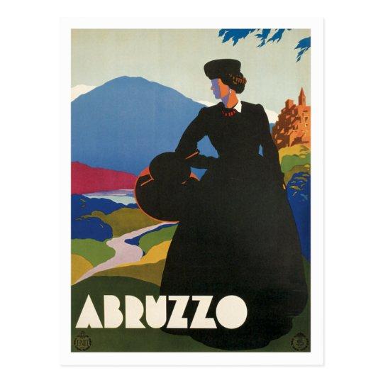 Abruzzo Italy Vintage Postcard