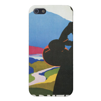 Abruzzo, Italy Vintage Travel Advertising  Cover For iPhone 5/5S