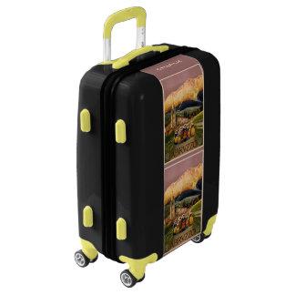 Abrvzzo Italy custom name luggage
