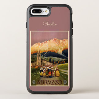 Abrvzzo Italy name phone OtterBox Symmetry iPhone 8 Plus/7 Plus Case