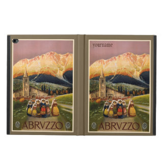 Abrvzzo Italy vintage travel device cases