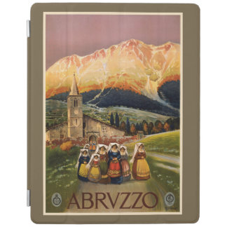Abrvzzo Italy vintage travel device covers iPad Cover