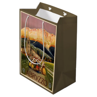 Abrvzzo Italy Vintage Travel gift bags
