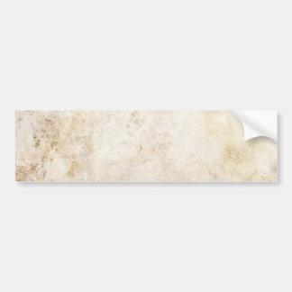 [ABS-BEI-1] Beige marble speckle Bumper Sticker
