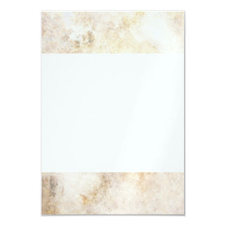 [ABS-BEI-1] Beige marble speckle Custom Invite