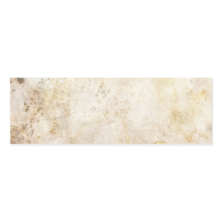 [ABS-BEI-1] Beige marble speckle Pack Of Skinny Business Cards