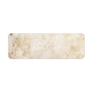[ABS-BEI-1] Beige marble speckle Return Address Label