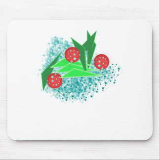 ABS New Year tree Mousepads