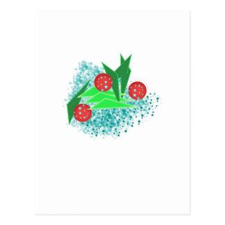 ABS New Year tree Postcard