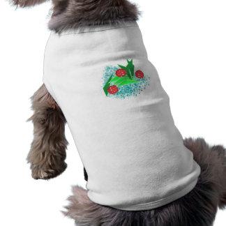 ABS New Year tree Sleeveless Dog Shirt