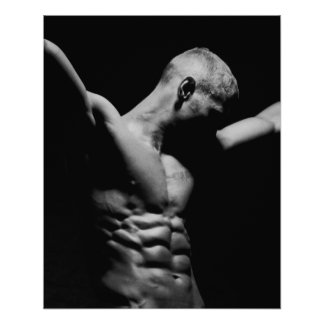 Abs Poster For Gym Wall