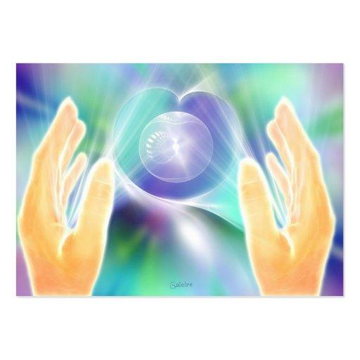 Absent Healing Business Card Template