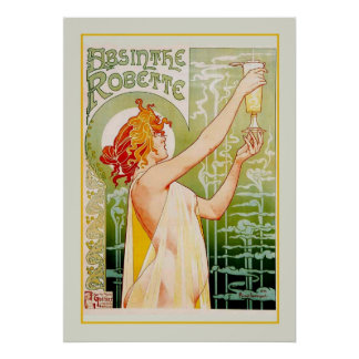 Absinthe advert poster