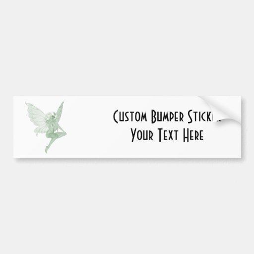 Absinthe Art Signature Green Fairy 1A Bumper Sticker