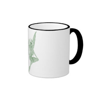 Absinthe Art Signature Green Fairy 1A Ringer Mug