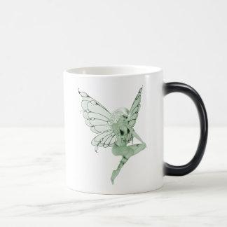 Absinthe Art Signature Green Fairy 1B Morphing Mug