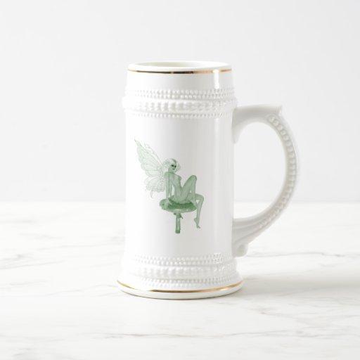 Absinthe Art Signature Green Fairy 2A Mugs