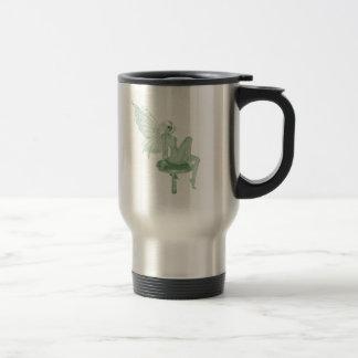 Absinthe Art Signature Green Fairy 2A Stainless Steel Travel Mug