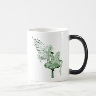 Absinthe Art Signature Green Fairy 2B Morphing Mug