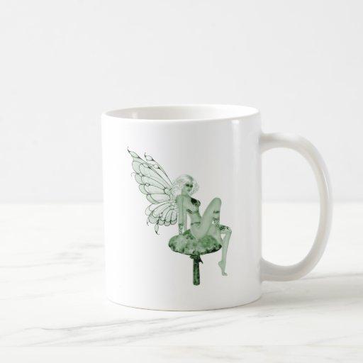 Absinthe Art Signature Green Fairy 2B Mugs