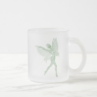 Absinthe Art Signature Green Fairy 3B Frosted Glass Mug