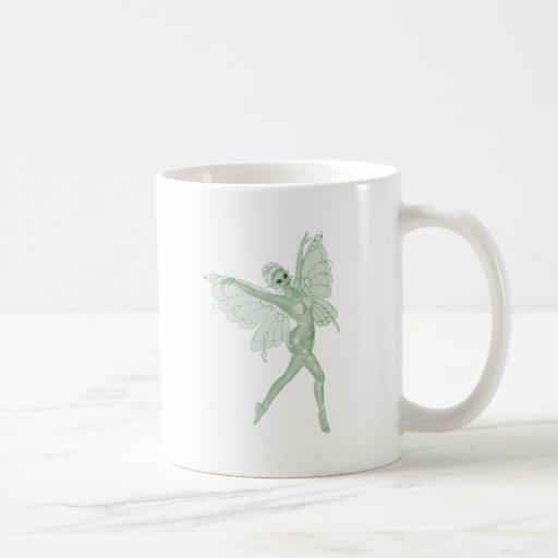 Absinthe Art Signature Green Fairy 3B Coffee Mugs