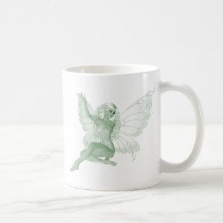 Absinthe Art Signature Green Fairy 4 Basic White Mug
