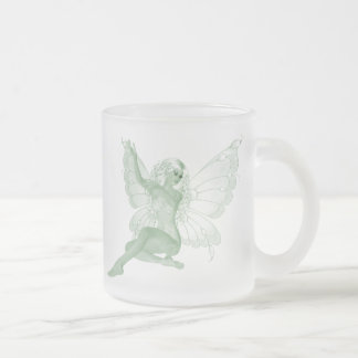Absinthe Art Signature Green Fairy 4 Frosted Glass Mug