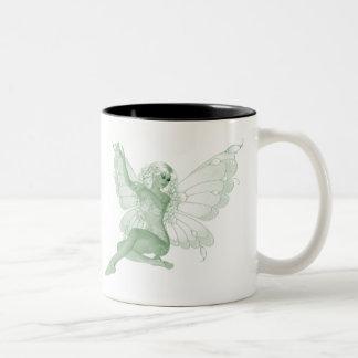 Absinthe Art Signature Green Fairy 4 Coffee Mugs