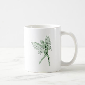 Absinthe Art Signature Green Fairy 8 Basic White Mug