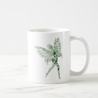 Absinthe Art Signature Green Fairy 8 Basic White Mug