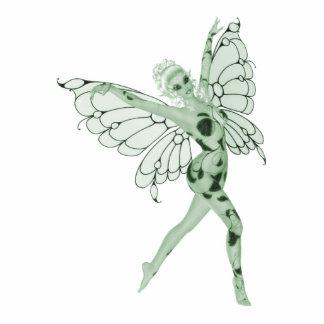 Absinthe Art Signature Green Fairy 8 Standing Photo Sculpture