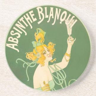 Absinthe Blanqui Nover Fine Art Coasters