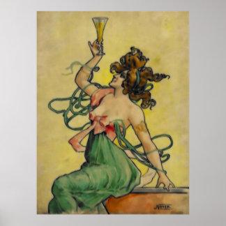 Absinthe Blanqui Nover Poster