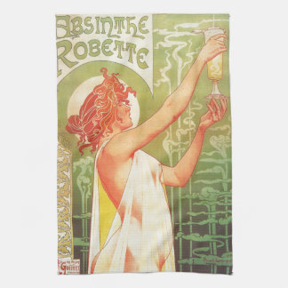 Absinthe Blanqui Vintage French poster advert Towel