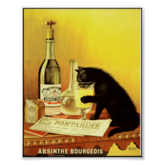 Absinthe Bourgeois Vintage Poster